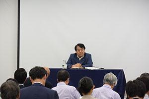 基調講演 寺島実郎学長