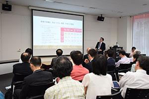 研究プロジェクト発表 久保田貴文准教授
