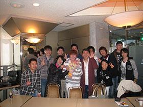 みなさん、サプライズパーティーありがとうございました!
