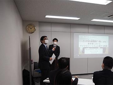 長島教授の開会のご挨拶
