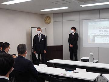 杉田取締役社長のご挨拶