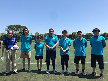 SGS関係者(左から、筆者橋詰、小林、久保木、網野、井原、髙橋、佐藤)